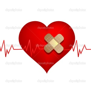 Wounded-heart-with-bandage