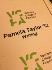 PT's VCFA badge