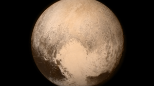 NASA Instagram photo of Pluto from New Horizons