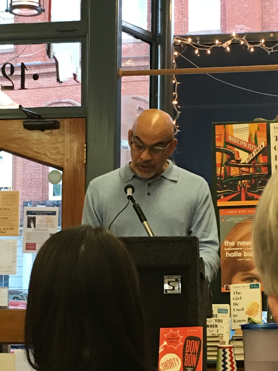Poet Willie Perdomo reading from his new collection, The Crazy Bunch