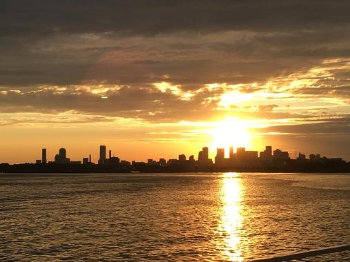 Boston Harbor - Harvard style