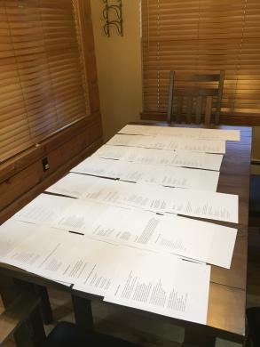 The beginning of the manuscript