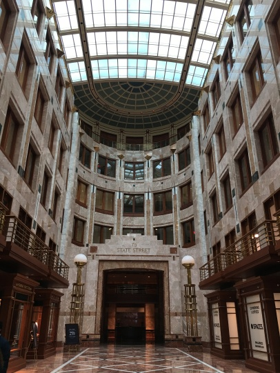 Inside few of 75 State Street Building